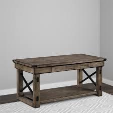altra owen retro coffee table altra furniture rustic gray coffee table coma frique studio