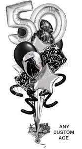 50th birthday balloon delivery birthdays
