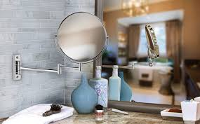 How To Mount Bathroom Mirror by What Makes A Great Makeup Mirror Better Living Products