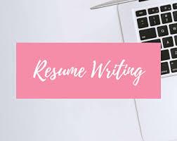 free resume etsy