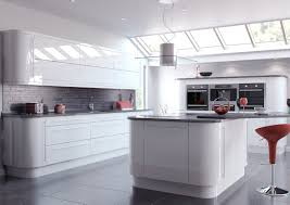 white high gloss slab kitchen units buy online at trade prices