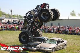 racing monster trucks event coverage u2013 bigfoot 4 4 open house u0026 r c monster truck race