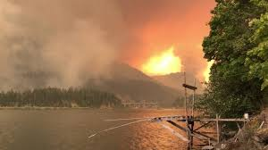 Oregon Forest Fires Map cascade locks oregon forest fire 9 4 17 youtube