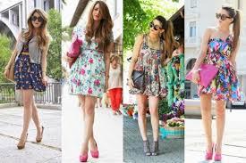 Vestidos florais para o verão 2015