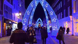 london christmas lights walking tour london walk best london christmas lights 2017 england uk youtube