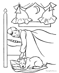 sleeping dogs coloring pages 112