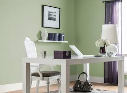 office in soft sage green color in home offices rooms color