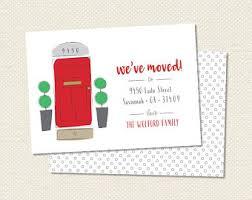 new address card etsy