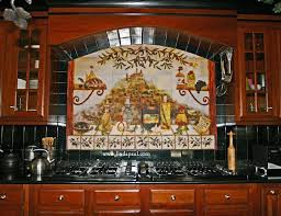 Kitchen Tile Backsplash Murals by Italian Tile Backsplash Kitchen Tiles Murals Ideas