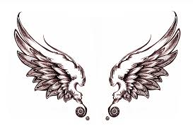 angel wing stencil free download clip art free clip art on