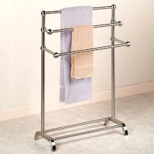towel rack ideas for bathroom free standing monticello wrought iron towel rack lively racks for