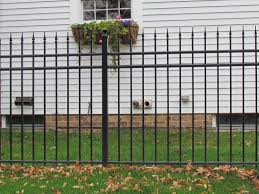 decorative metal fences with the fence company llc
