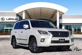 lexus 570 lx 2015 2015 white lexus lx 570 5 7 l for sale park place