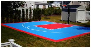 Backyard Basketball Court Home Basketball Court Design Captivating Decoration Home