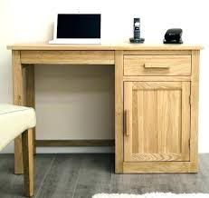 Small Wood Computer Desk Rustic Oak Computer Desk White Solid Wood Desk Desk Solid Wood