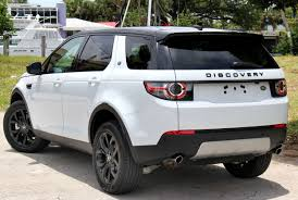land rover discovery exterior land rover discovery sport 2016 black package on white google
