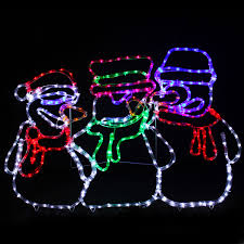Led Rope Light Christmas Decorations by Christmas Led Rope Lights Christmas Lights Decoration