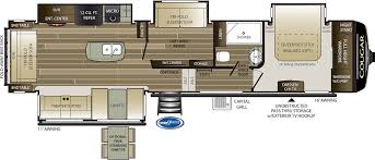 cougar floor plans cougar fifth wheels keystone rv