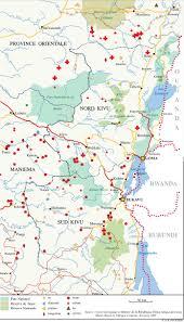 Map Of Rwanda Rwanda Crossed Crocodiles