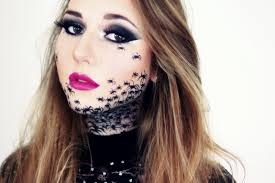 Make Up For Halloween Spider Make Up Few Sparks Halloween Carnival Make Up Spider