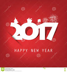 simple white and new year card cover or background design