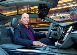 luxury cars interior volvo cars u0027 robin page voted interior designer of the year at the