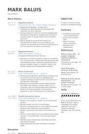 Sample Comprehensive Resume For Nurses Registered Nurse Resume Samples Visualcv Resume Samples Database