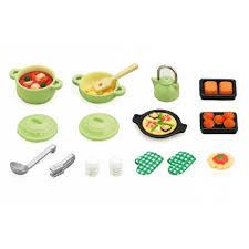 sylvanian families cuisine sylvanian families kitchen cooking set 10 00 hamleys for toys