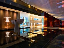 interior luxury hotel room interior design with modern sofa sets