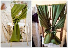 Chair Sashes 2014 Wedding Trends Top 10 Unique Chair Sash Styles Bridal