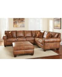 sectional sofas with ottoman surprise 10 off sanremo top grain leather sectional sofa and