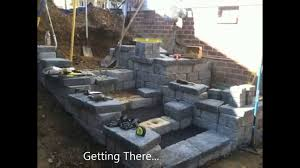Backyard Wall Backyard Retaining Wall Ideas Ryan U0027s Landscaping 717 632 4074