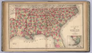 Southeast United States Map by Atlas Of The United States Map Of The Southern States David