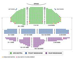 ambassador theatre broadway seating charts