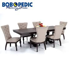 dining room sets bob s discount furniture riverdale 7 piece dining set with upholstered chairs