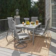 patio table plug 2 1 4 woven vinyl outdoor furniture bellacor