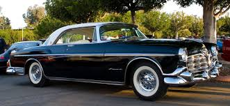 1955 chrysler imperial long low and shiny fossil fuel