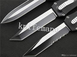 3 types microtech troodon a162 3 modles double single action