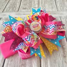 beautiful bows boutique buy large shopkins boutique birthday bow headband online at