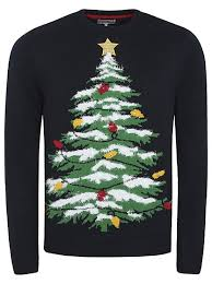 christmas tree jumper with lights cute christmas jumper light up christmas jumper men george at
