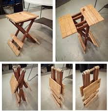 small foldable table and chairs small folding table updated