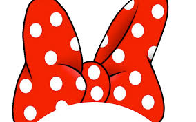 minnie mouse ears and bow clipart clipartxtras