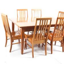Mission Style Dining Chairs Vintage Hepplewhite Style Shield Dining Room Chairs Ebth