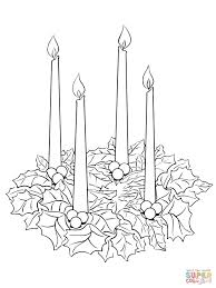 28 advent wreath coloring page no such url pics photos advent