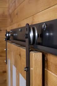 barn door track hardware modern home