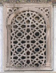 geometrical ornamentation at the omayyad mosque det danske