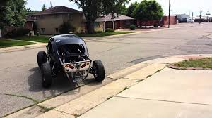 baja bug build ecotec baja bug 5x5 tubular trailing arms first drive youtube