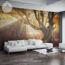 articles with tree wall murals for nursery tag tree wall mural full image for terrific white tree wall decals for nursery autumn forest magical old birch tree