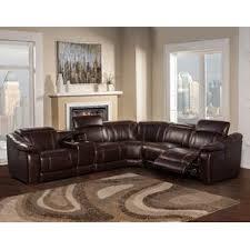 Seven Piece Reclining Sectional Sofa by Reclining Sectionals You U0027ll Love Wayfair