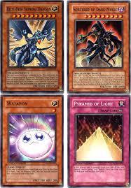 yugioh pyramid of light full movie yu gi oh movie promo cards set of 4 walmart com
